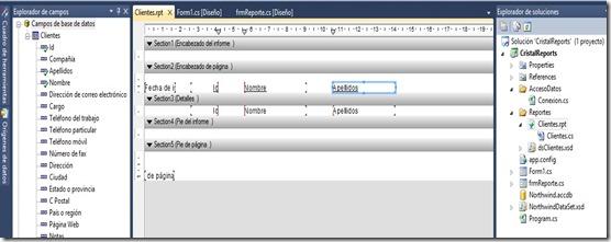 Crystal Reports con DataSet tipado (4/5)